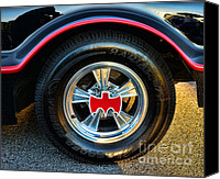 Dean Canvas Prints - Batmobile - 3 Canvas Print by Paul Ward