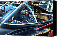 Dean Canvas Prints - Batmobile - 4 Canvas Print by Paul Ward