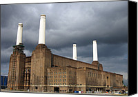 Battersea Canvas Prints - Battersea Power Station, London, Uk Canvas Print by Johnny Greig