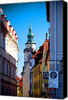 City Streets Photo Canvas Prints - Bavarian Corridor  Canvas Print by Anthony Citro