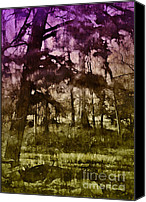 Judi Bagwell Canvas Prints - Bayou Twilight Canvas Print by Judi Bagwell
