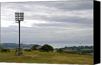United Kingdom Canvas Prints - Beacon on Culver Down Canvas Print by Rod Johnson