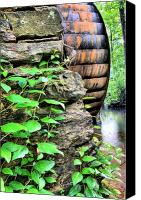 Chambers Canvas Prints - Beans Mill Canvas Print by JC Findley