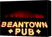Sheryl Burns Canvas Prints - Beantown Pub Canvas Print by Sheryl Burns