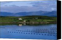 Corks Canvas Prints - Beara, Co Cork, Ireland Mussel Farm Canvas Print by The Irish Image Collection 