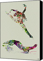 Dancer Canvas Prints - Beautiful Ballet Canvas Print by Irina  March
