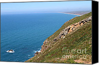 Headlands Canvas Prints - Beautiful Coastline of Point Reyes California . 7D16017 Canvas Print by Wingsdomain Art and Photography