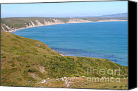 Headlands Canvas Prints - Beautiful Coastline of Point Reyes California . 7D16050 Canvas Print by Wingsdomain Art and Photography