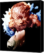 Horror Fantasy Movies Canvas Prints - Beauty And The Beast, Aka La Belle Et Canvas Print by Everett