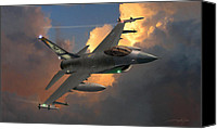 Usaf Canvas Prints - Beauty Pass Canvas Print by Dale Jackson