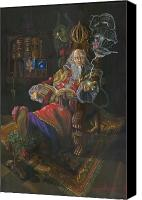 Magic Painting Canvas Prints - Bedtime Stories Canvas Print by Jeff Brimley