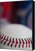 Baseball Parks Canvas Prints - Beer and Baseball Canvas Print by Alan Look