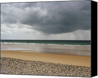 Storm Photo Canvas Prints - Before The Storm Canvas Print by Photography by Reza Bassiri
