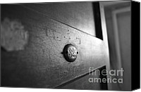Abstract Building Canvas Prints - Behind Door No. 329 Canvas Print by Luke Moore