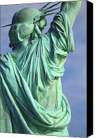 Merit Photo Canvas Prints - Behind Liberty Canvas Print by David  Naman