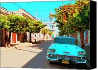 Havana Daydreams Canvas Prints - Bel Air Dream Canvas Print by Dominic Piperata