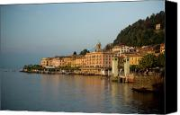 Lago Di Como Canvas Prints - Bellagio Approach Canvas Print by Chuck Parsons
