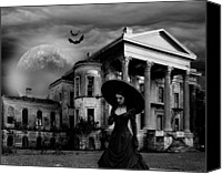 James Griffin Canvas Prints - Belle Grove Louisianas Lost Plantation Canvas Print by James Griffin