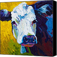 Farms Canvas Prints - Belle Canvas Print by Marion Rose