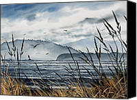 Landscape Framed Print Image Canvas Prints - Bellingham Bay Canvas Print by James Williamson
