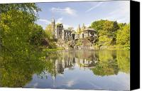 Belvedere Castle Canvas Prints - Belvedere Castle in Central Park Canvas Print by Bryan Mullennix