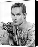 1959 Movies Canvas Prints - Ben-hur, Charlton Heston, 1959 Canvas Print by Everett