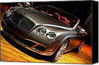 Drive Canvas Prints - Bentley Continental GT Canvas Print by Cosmin Nahaiciuc