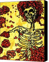 Grateful Dead Canvas Prints - Bertha Canvas Print by Gayland Morris