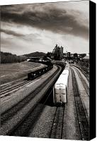 Train Canvas Prints - Bethlehem Stolen Canvas Print by Mark Montana