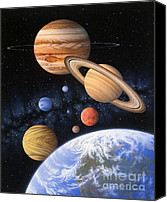 Venus Canvas Prints - Beyond the Home Planet Canvas Print by Lynette Cook