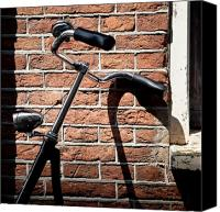Cycle Canvas Prints - Bicycle Canvas Print by David Bowman