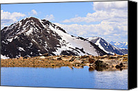 Alpine Canvas Prints - Bierstadt Infinity Canvas Print by Adam Pender