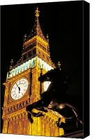 Minutes Photo Canvas Prints - Big Ben in London Canvas Print by Carl Purcell