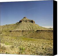 Big Bend Canvas Prints - Big Bend Natinal Park in Color Canvas Print by M K  Miller