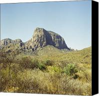 Big Bend Canvas Prints - Big Bend Natinal Park Scenic Canvas Print by M K  Miller