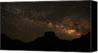 Big Bend Canvas Prints - Big Bend night Canvas Print by Chris Multop
