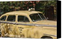 Kevin Sherf Canvas Prints - Big Yellow Taxi Canvas Print by Kevin  Sherf