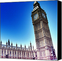 Featured Canvas Prints - #bigben #uk #england #london2012 Canvas Print by Abdelrahman Alawwad