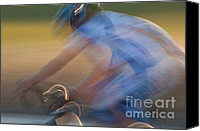 Impression Canvas Prints - Bike Race 2 Canvas Print by Catherine Lau