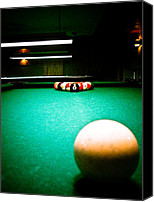Retro Style Canvas Prints - Billiards 01 Canvas Print by Michael Knight