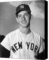 New York Yankees Canvas Prints - Billy Martin (1928-1989) Canvas Print by Granger