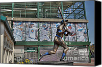 Williams Canvas Prints - Billy Williams  Canvas Print by David Bearden
