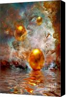 Surrealism Canvas Prints - Birth Canvas Print by Photodream Art