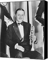 Black Tie Photo Canvas Prints - Bix Beiderbecke, At The Club New Canvas Print by Everett