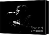 Rock And Roll Canvas Prints - Black and White MCR Canvas Print by Christopher  Chouinard