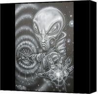 Aliens Canvas Prints - Black hole Canvas Print by John Shook