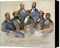 Politician Canvas Prints - Black Senators, 1872 Canvas Print by Granger