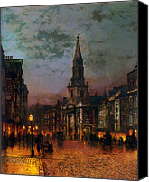 Grimshaw Canvas Prints - Blackman Street London 1885 Canvas Print by Stefan Kuhn