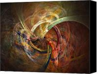 Modern Digital Art Canvas Prints - Blagora Canvas Print by David April