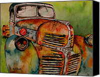 Junk Canvas Prints - Blast from the past Canvas Print by Maria Barry